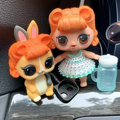 2pcs LOL SURPRISE DOLLS SERIES 2 JITTERBUG & Jitter Critter Pet Doll Girl Gift