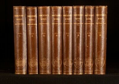 1890 8vol The Henry Irving Shakespeare Illustrated Works of Shakespeare