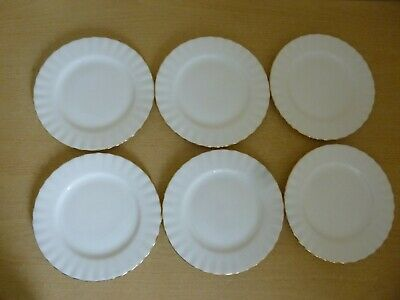 6 Royal Albert Val D'Or Side Plates - 1st Quality - Super Condition