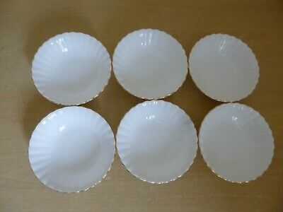 6 Royal Albert Val D'Or Bowls or Fruit Saucers - 1st Quality - Super Condition