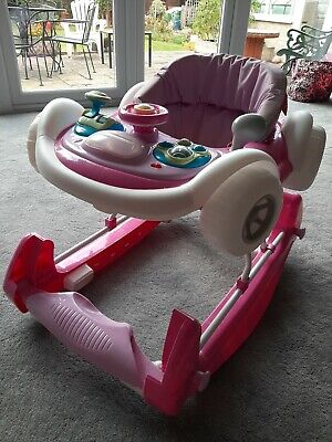 Baby Walker & rocker My Child Coupe Pink 6 months + baby toddler play seat car