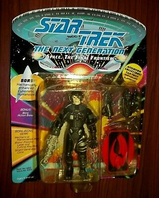 Star Trek TNG Borg Figure Playmates 1992 Reverse Photo
