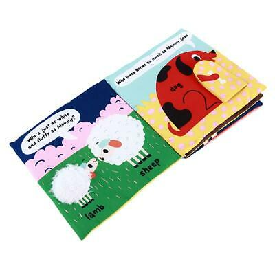 Cloth Books Cognize Toy  Kids Intelligence Development Learn Pictures Book W