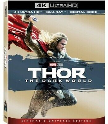 Thor: Dark World (REGION A Blu-ray New)