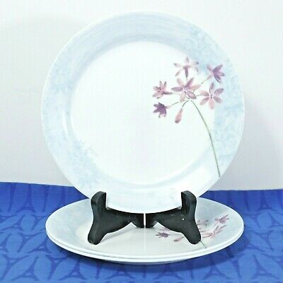 "3 Corning CORELLE  Summer Meadow Salad / Dessert Plates 7 1/4"",  MINT"