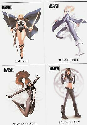 Marvel Dangerous Divas Women Of Marvel Chase Card W3
