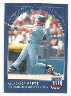 2019 Topps 150 Years of Baseball #64 GEORGE BRETT