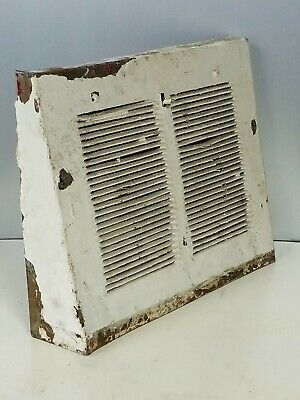 Antique Vintage Heat Cover Register Wall Grate Floor Victorian Rustic Metal