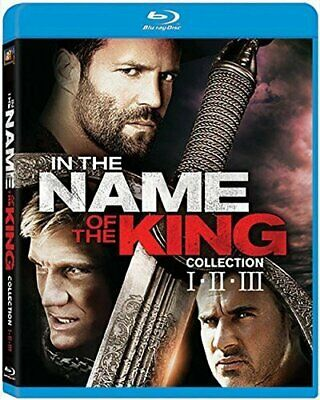 IN THE NAME OF THE KING COLLECTION New Sealed Blu-ray 1 2 3 All 3 Films