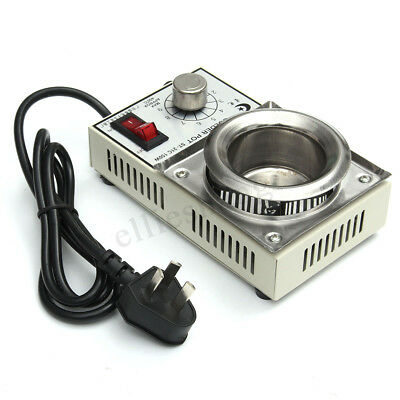 Hot 150W 220V Solder Pot Soldering Desoldering Bath 50mm ST-21C 450 Degree Max