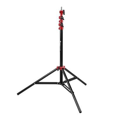 Flashpoint Pro Air-Cushioned Heavy-Duty Light Stand (Red, 7.2') #FP-S-7-RD