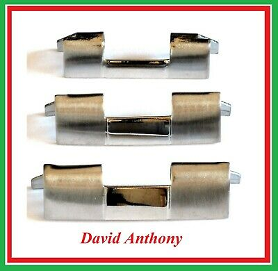 For PRESIDENT WATCH BRACELET STRAIGHT ENDS (2) 18mm 20mm or 22mm Stainless Steel