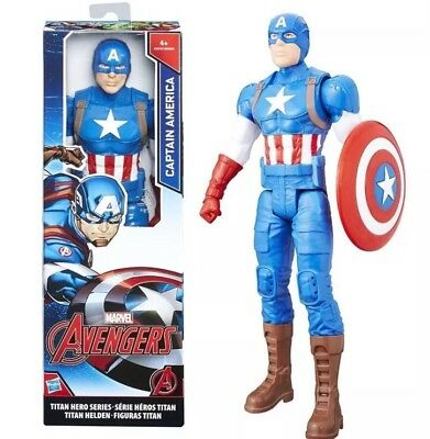 Marvels Avengers 12-Inch Marvel Titan Hero Series Captain America Figure