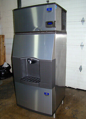 TESTED WORKING Manitowoc SPA-310 Ice Maker 300 Pound Capacity With Storage Bin