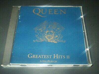 QUEEN CD Album GREATEST HITS  Vol II Orig 17 trx 1991 Very Good Cond RADIO GA GA