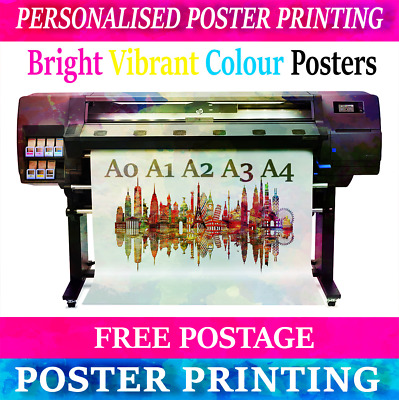 Full Colour Printing Service for size A0 A1 A2