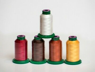 "ISACORD EMBROIDERY THREAD 1000m ""FALL KIT""- 5 count"