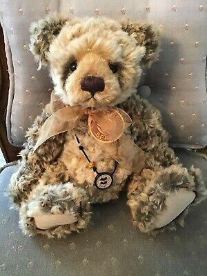 """Libby * Charlie Bears 2009 Plush  * 11.5"""" Brand New With Tags * Retired Rare"""