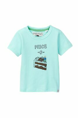 Sovereign Code NEW Teal Blue Baby Boys Size 12 Months Piece-O-Cake T-Shirt 630