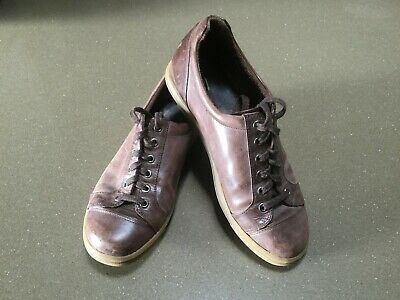 """Ziera Orthotic Suitable Chocolate Brown Lace Up Flats: """"Star"""" Size 39 Xw"""