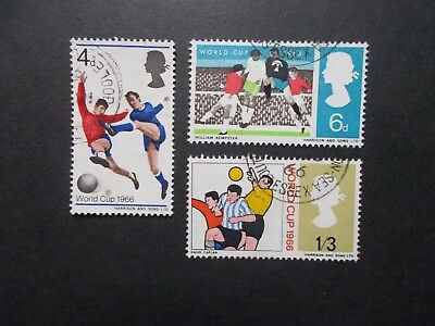 GB 1966 Commemorative Stamps~World Cup~Fine Used Set~UK Seller