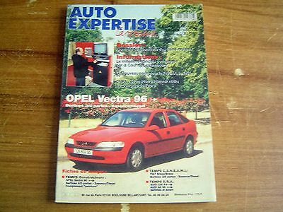 REVUE TECHNIQUE AUTO EXPERTISE OPEL VECTRA 96 > essence et diesel 3/5 portes
