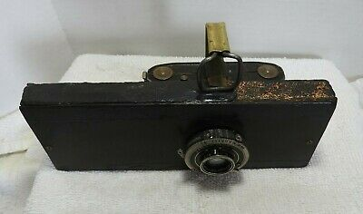 1930's ZEISS IKON Ikonta 520 Camera? mated to board Compur-Rapid Shutter Unusual