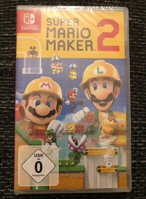 Nintendo Switch Super Mario Maker 2 NEU&OVP..