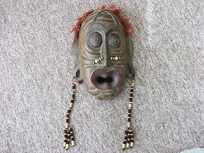 Superb Large Handcrafted Balinese Wall Mask