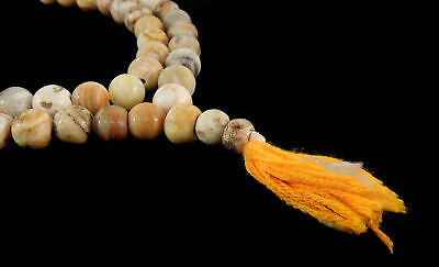 Pumtek Beads Round Natural Undyed  Nepal 47 Inch SALE WAS $75.00