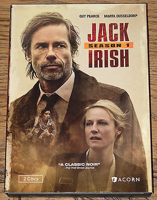 Jack Irish Season Series 1 First One 2016 With Opt Subtitles R1 Dvd Sent From Uk