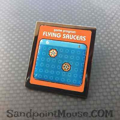 Disney LE Sci Fi Academy Penny Arcade Video Games Flying Saucers Pin (UA:83299)