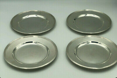 Sterling Silver Bread Plates 6 inches Set Of 4