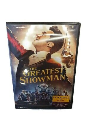 The Greatest Showman DVD Sing-Along Edition Hugh Jackman New And Sealed