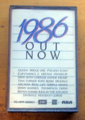 1886 OUT NOW..Cassette. QUEEN, UB40, TINA TURNER,JIMMY BARNES, HOODOO GURUS etc.