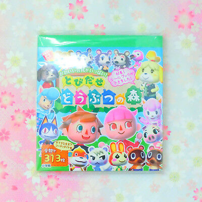 "Nintendo JAPAN-Leaf Sticker Book ""Animal Crossing"""