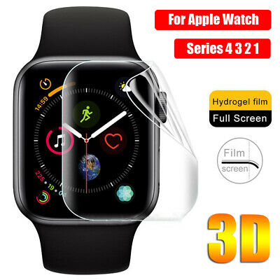 Screen Protectors for iWatch Apple Watch Series 4 3 2 1 TPU Protective Film