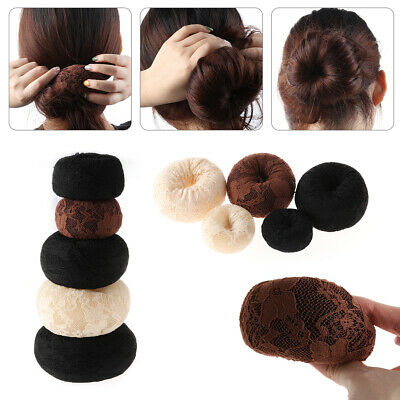 Women Magic Shaper Donut Hair Ring Bun Fashion Accessories Styling Tool NEW