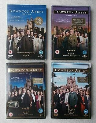 Downton Abbey : The Complete Series 1 2 3 & 4 DVDs Lot ~ All Brand New & Sealed