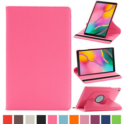 For Samsung Galaxy Tab A 8.0 2019 SM-T290 T295 PU Leather Rotating Stand Case