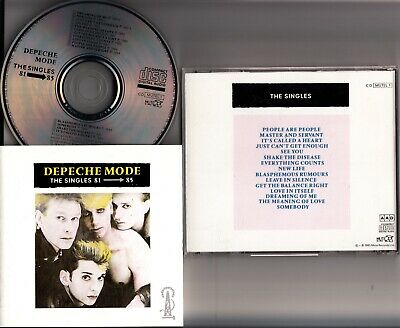 DEPECHE MODE- The Singles Best of 81-85 *NO BARCODE 1985* MUTUEL CD 1 MPO 01 @