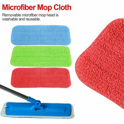 HOT Microfibre Mop Refill Replacement Heads Dust Floor Cleaning Washable Pads TS