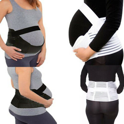 Pregnancy Maternity Support Belt Lower Back Bump Belly Band Waist Support Utile