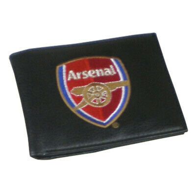 Arsenal F.C - PU Wallet (EMBROIDERED)  - GIFT FATHERS DAY BIRTHDAY