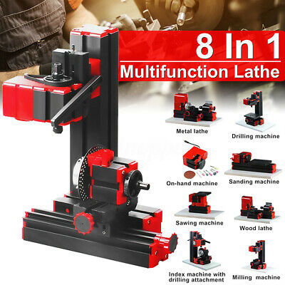 8 In 1 20000RPM Mini Multipurpose Basic Machine Set Model Making For Woodworking
