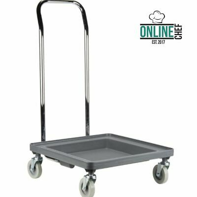 Dishwasher Commercial Plastic Dish Glass Rack Tray Shelf Cart Dolly with Handle
