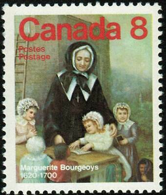 Canada sc#660v Canadian Personality: Marguerite Bourgeoys, NF smooth, Mint-NH