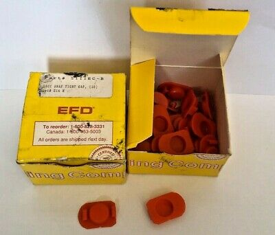 59 Pcs Efd 10 Cc Snap Tight Syringe Caps 5111Ec-B