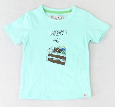 Sovereign Code NEW Blue Baby Boy's Size 24 Months Piece O Cake T-Shirt- #383