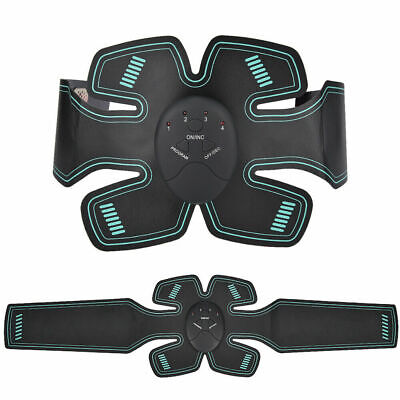 EMS Trainer Abdominal Toning Muscle Toner Gym Abs Smart Fitness Belt Household